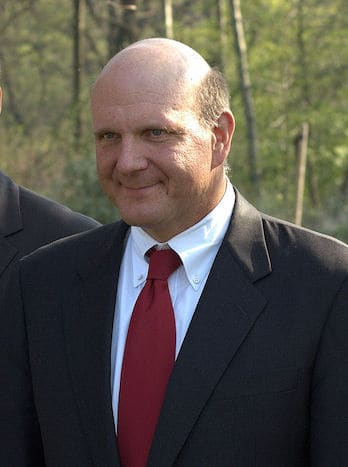 Steve ballmer richest CEOs HostingRadar.co
