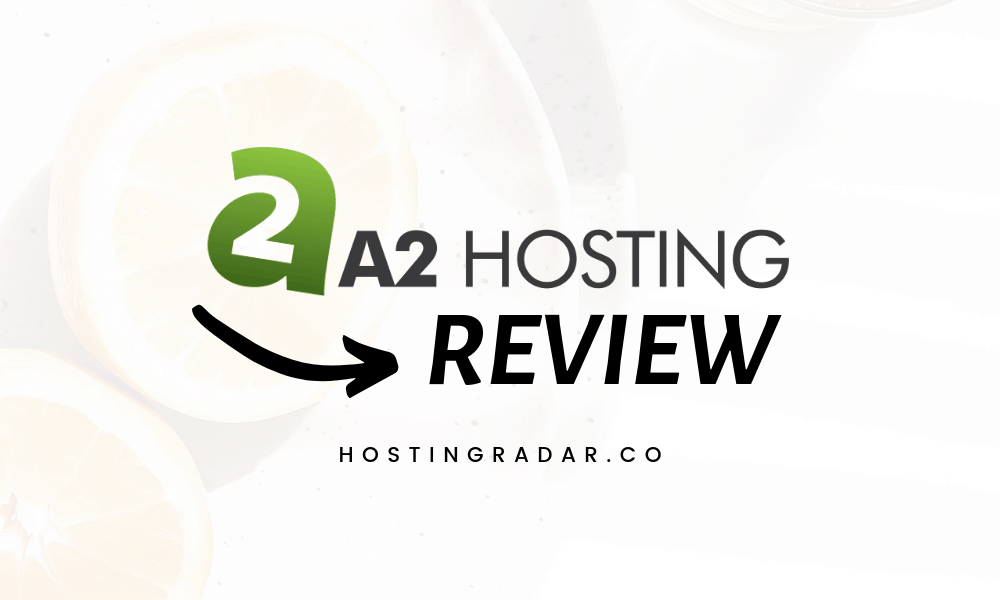 A2 hosting review coupons