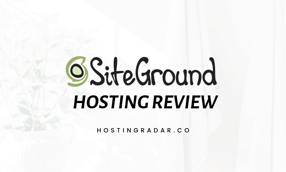 Siteground HOSTING REVIEW (1)