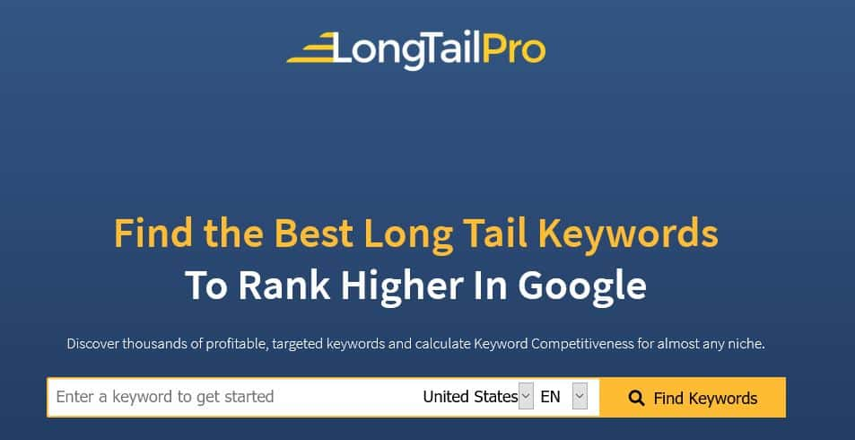 best hosting deals for black friday Long Tail Pro Black Friday Sale