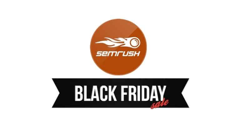 best hosting deals for black friday SEMrush Black Friday Sale
