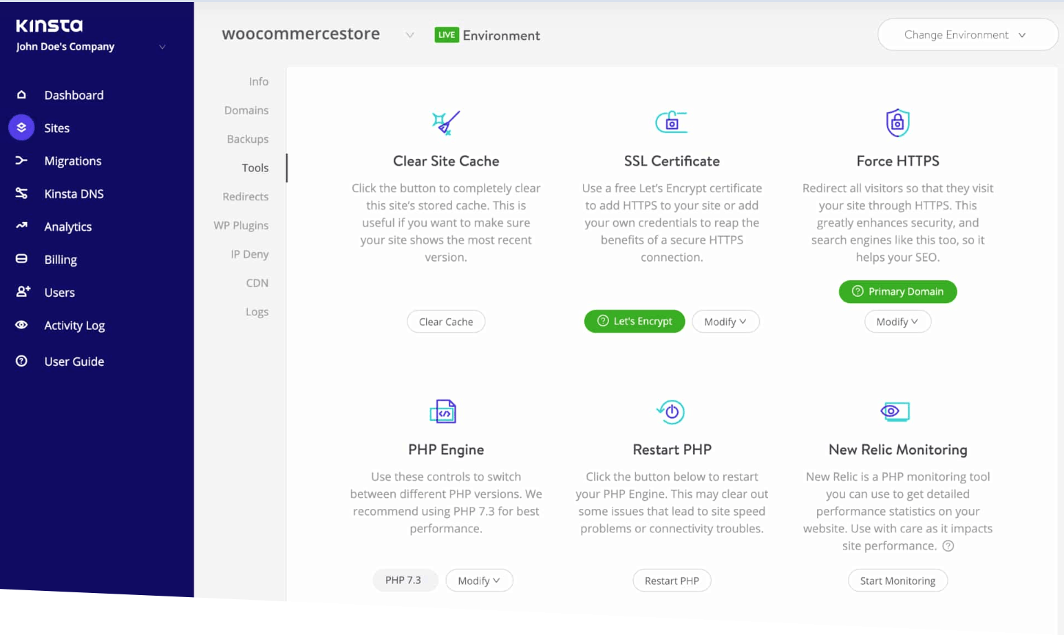 Kinsta review premium managed wordpress hosting review 2 HostingRadar.png