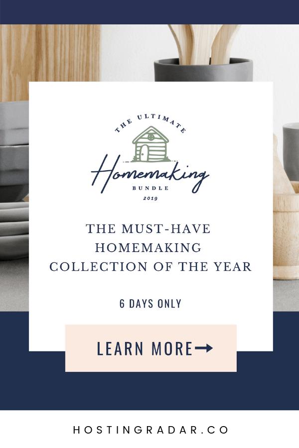 Ultimate Homemaking Bundle 2019 Released