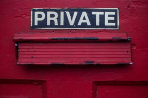 private sign above mail slot - namecheap changes their privacy provider